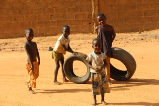 Kinder in Niamey